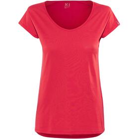 Haglöfs Camp Naiset Lyhythihainen paita , punainen